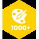Более 1000 цветовых решений