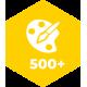 Более 500 цветовых решений