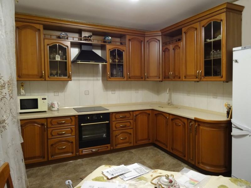 Кухня из массива Изабель