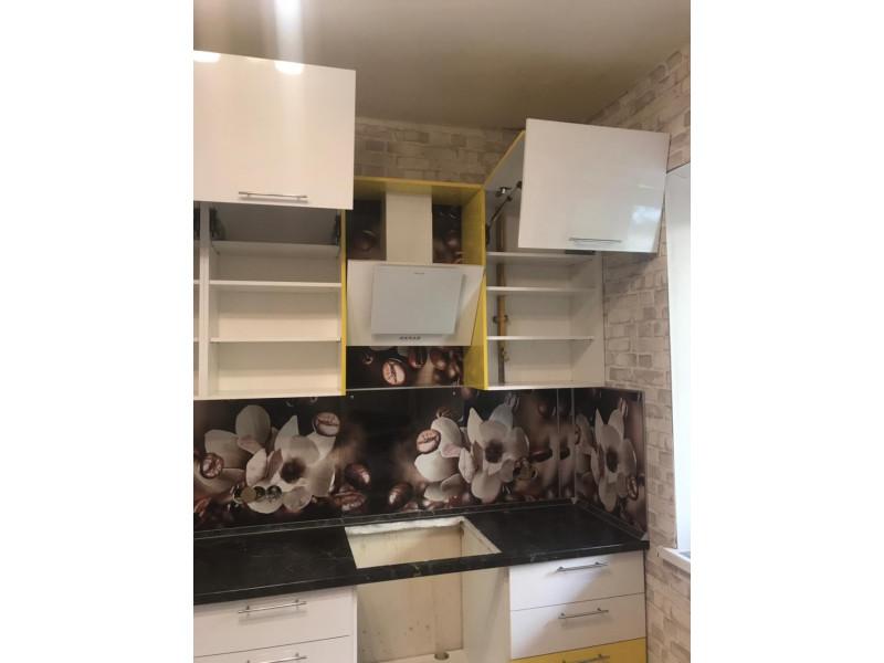 Кухня из МДФ в пластике Диана