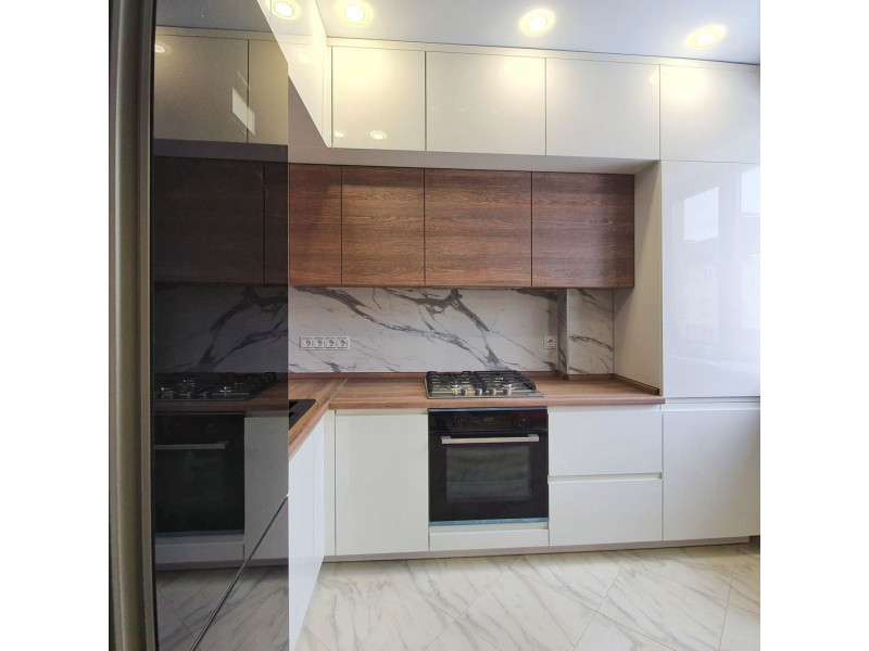 Кухня МДФ в эмали Глэдис