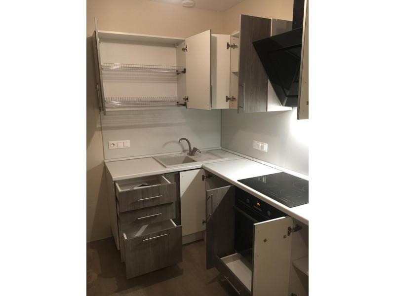 Кухня из пластика ПЛ-039