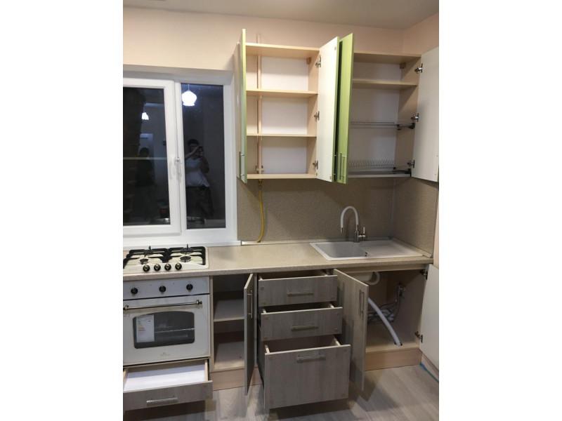 Кухня из пластика ПЛ-040