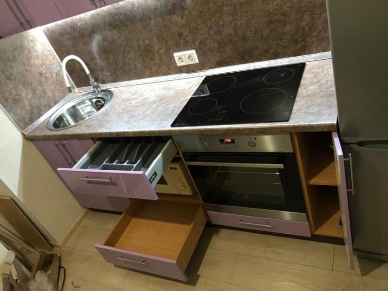 Кухня из пластика ПЛ-044