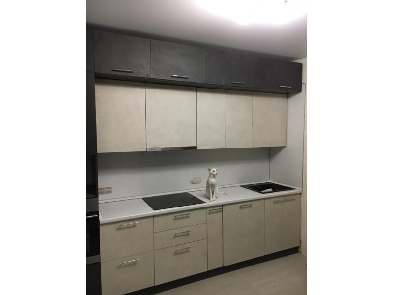 Кухня из пластика ПЛ-012