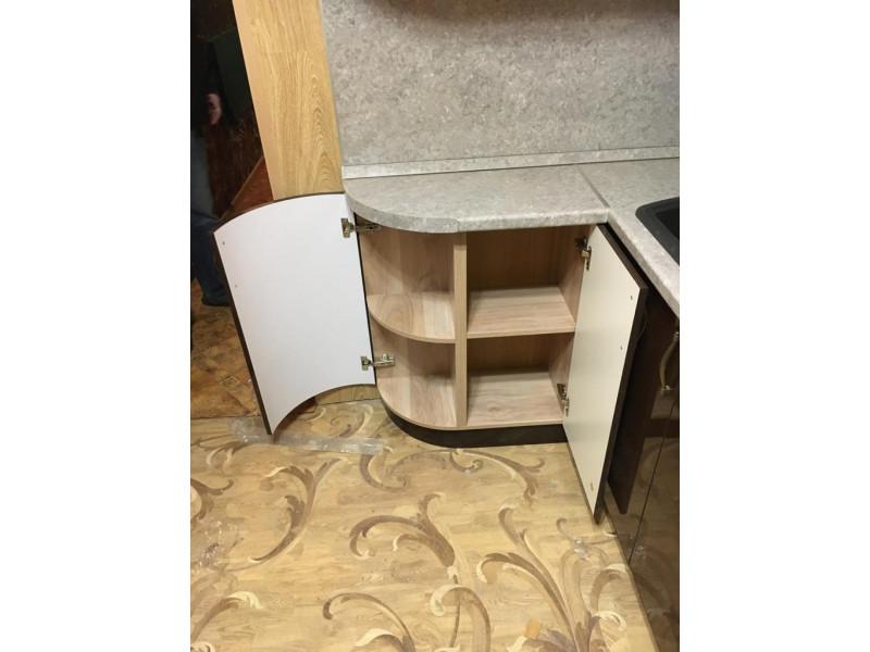 Кухня из пластика ПЛ-013