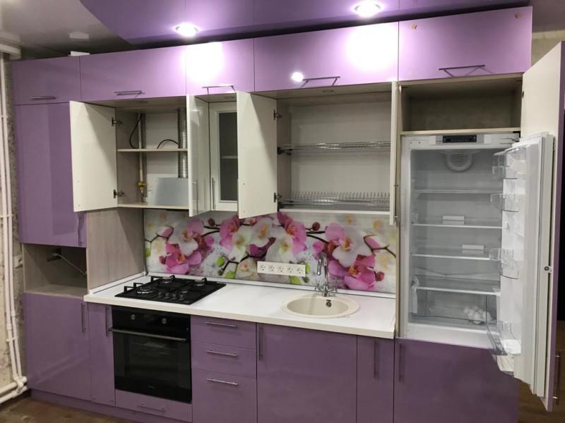 Кухня из пластика ПЛ-010