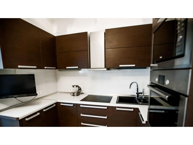 Кухня из пластика ПЛ-019