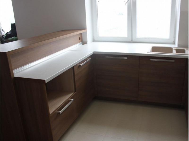 Кухня из пластика ПЛ-031