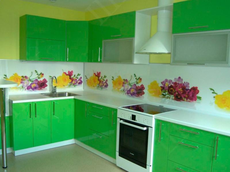 Кухня из пластика ПЛ-053