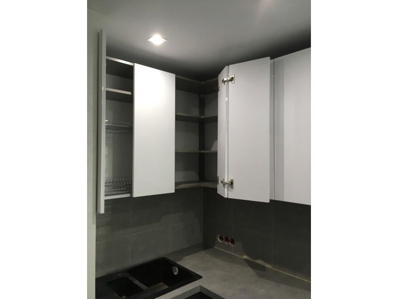 Кухня из пластика ПЛ-011