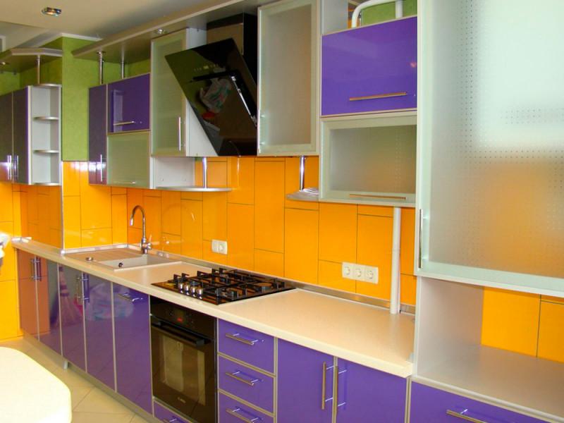 Кухня из пластика ПЛ-021