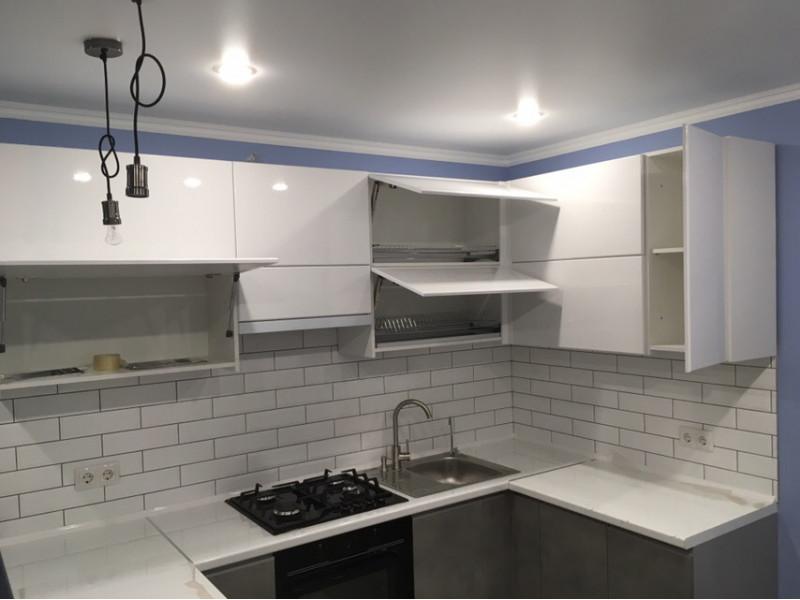 Кухня из пластика ПЛ-009