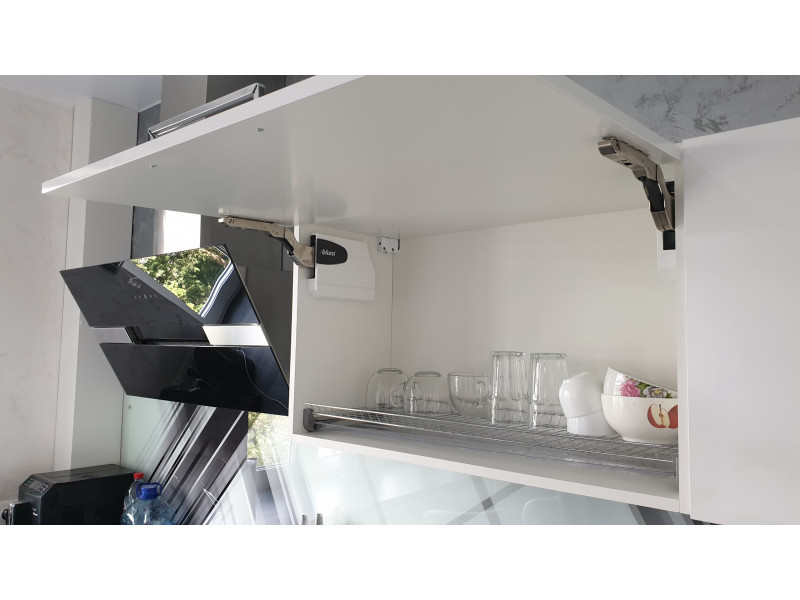 Кухня из пластика ПЛ-004