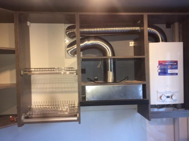 Кухня из пластика ПЛ-030