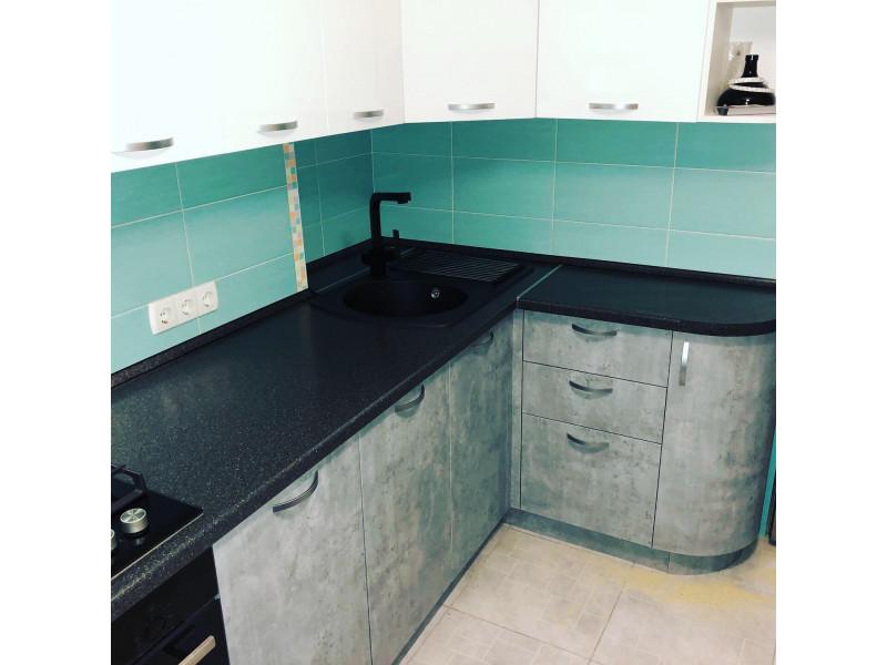 Кухня из пластика ПЛ-025