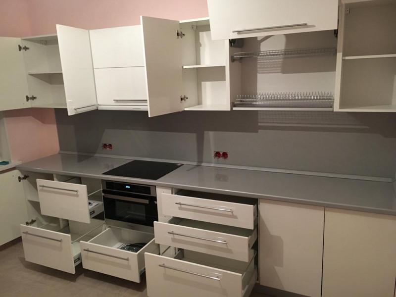Кухня из пластика ПЛ-042