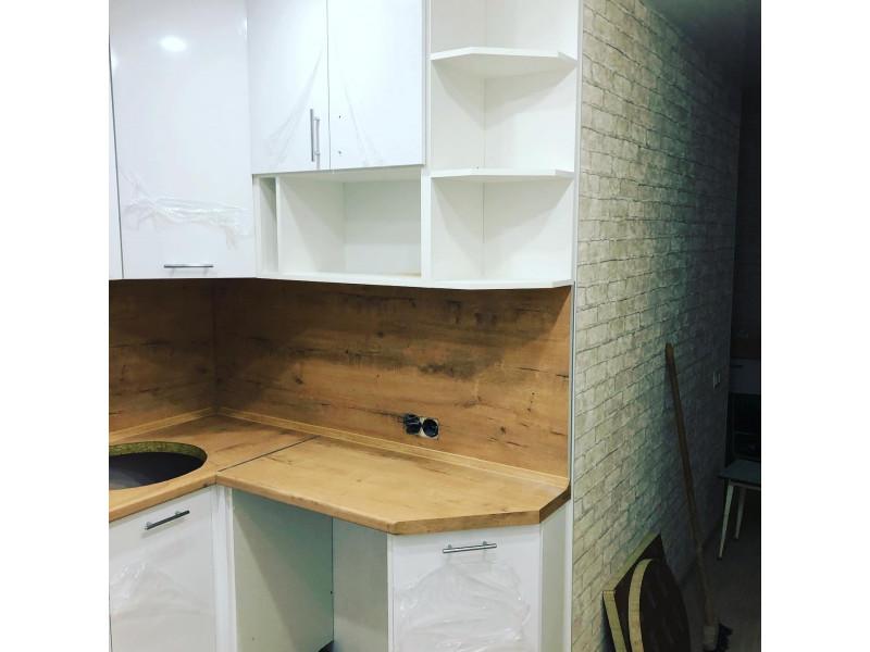 Кухня из пластика ПЛ-029