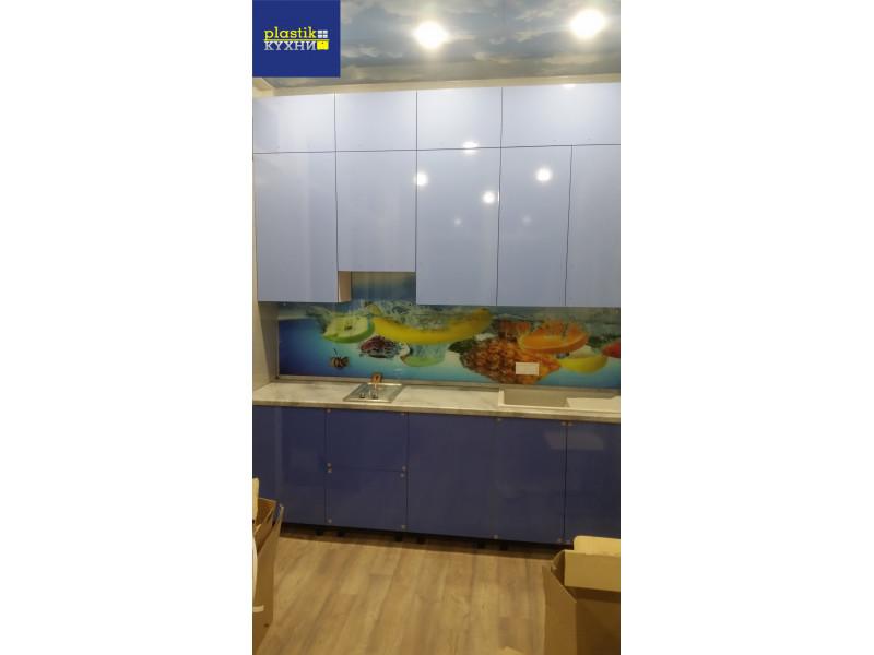 Кухня из пластика ПЛ-036