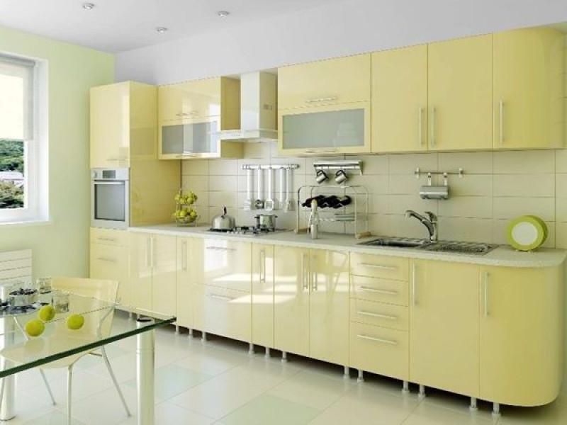 Кухня из пластика ПЛ-052