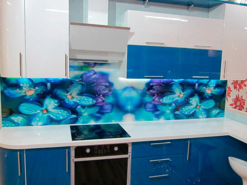 Кухня из пластика ПЛ-023