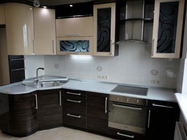 Кухня радиусная 003