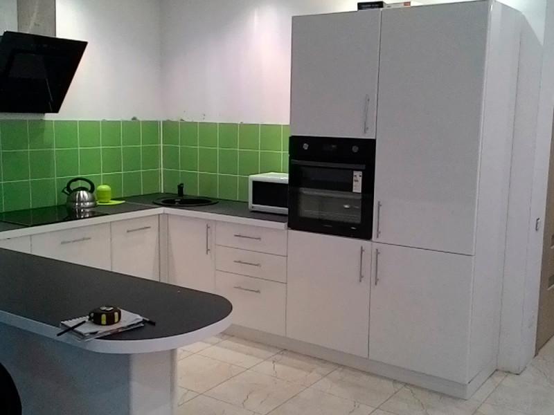 Кухня из пластика ПЛ-028