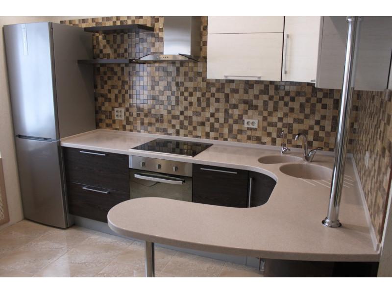 Кухня из пластика ПЛ-055