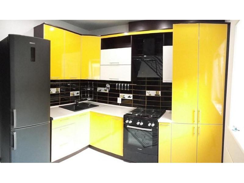 Кухня из пластика ПЛ-005