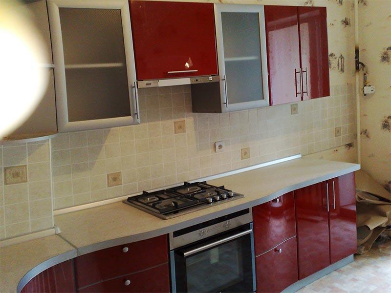 Кухня ПВХ-027