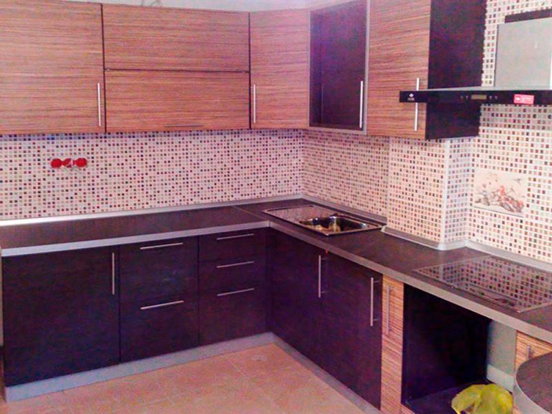 Кухня из пластика ПЛ-016