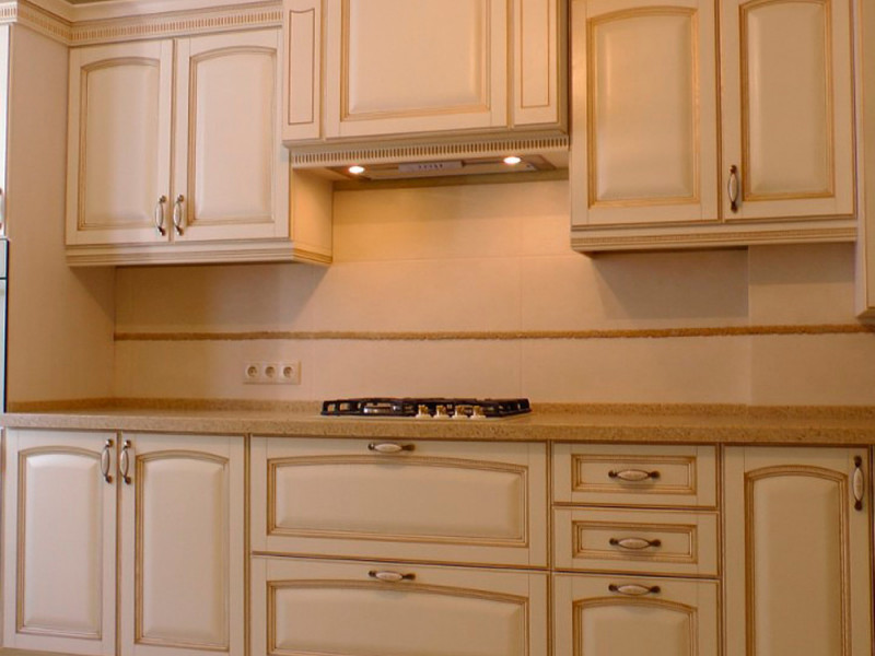 Кухня из массива МД-001