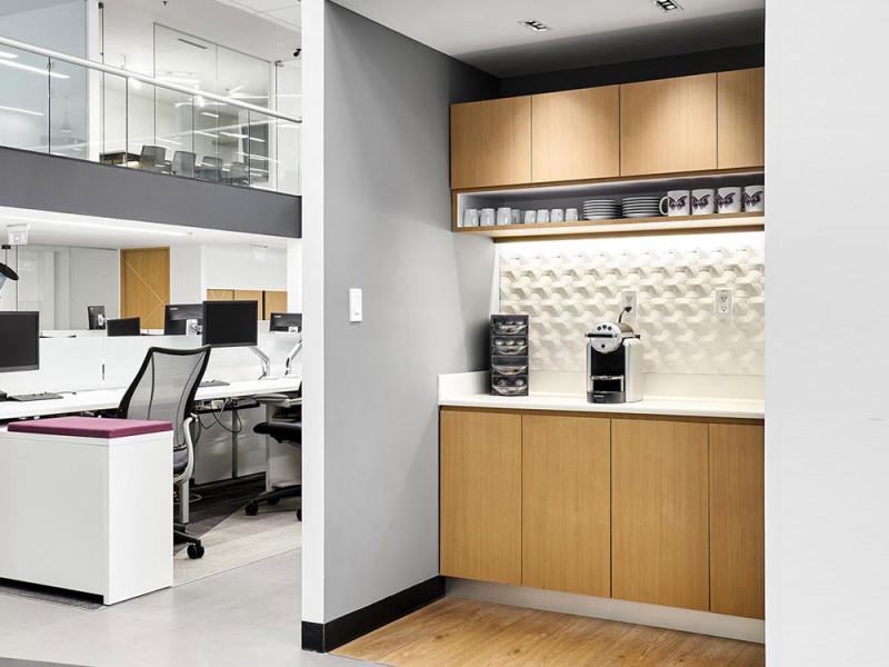 Кухня в офис Мини 1