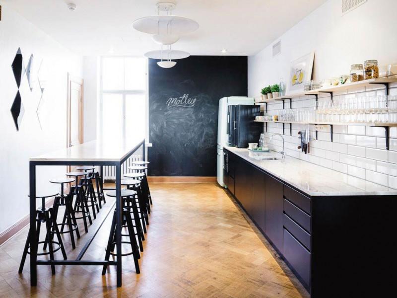 Кухня без верхних полок Смарт