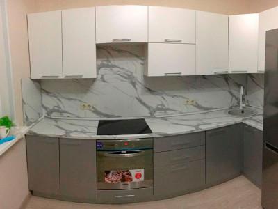 Кухня МДФ - эмаль матовая. Отрадное. Октябрь 2019